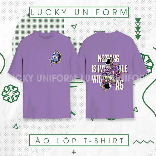 Áo T-shirt Tím Infinity