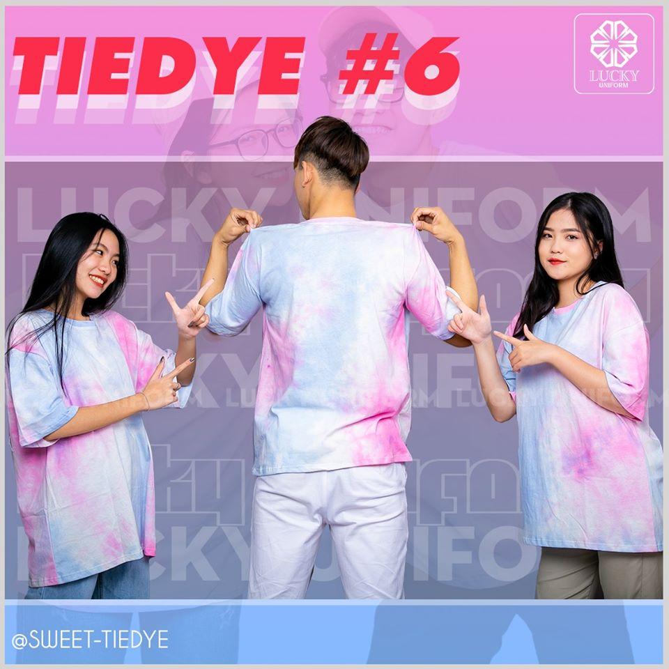 Áo tie dye thể hiện cá tính riêng